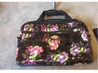 Laptop bag - floral - brand new