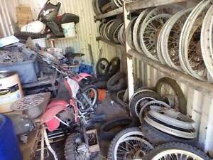 CLEARING SALE MOTORCYCLE PARTS Warner Pine Rivers Area Preview