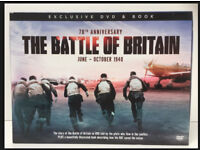 70th Anniversary The Battle of Britain - Exclusive DVD and Book - Still Sealed