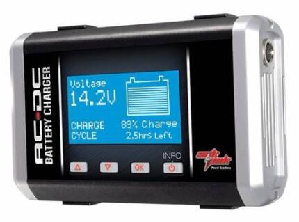Ark Pak AC DC Battery Charger. 3 in One versatility.