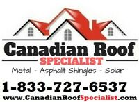 Canadian Roof Specialist - Free Instant Online Quote