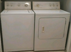 Kenmore super capacity washer and dryer works great