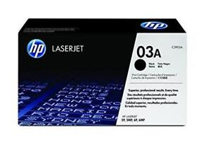 Genuine HP C3903A Black Toner Cartridge
