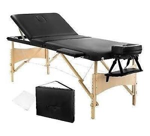 brand wooden portable new massage table Logan Central Logan Area Preview