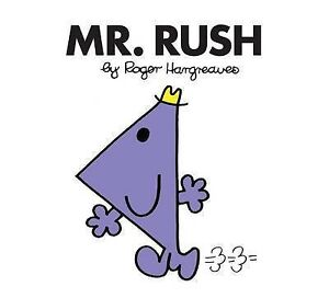 NEW (30)  MR RUSH ( BUY 5 GET 1 FREE book )  Little Miss Mr Men