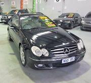 2005 Mercedes-Benz CLK280 C209 MY06 Avantgarde Black 7 Speed Automatic Coupe Southbank Melbourne City Preview