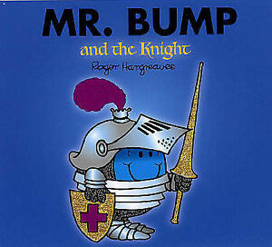 NEW sparkly MR BUMP and the KNIGHT (BUY 5 GET 1 FREE book) Little Miss Men