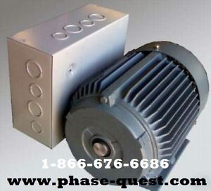 Rotary Phase Converter for Sale