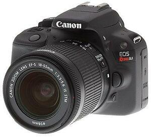 **CAMERA CLEARANCE SALE** Canon EOS Rebel SL1 Digital Camera W/18-55mm IS STM  Lens
