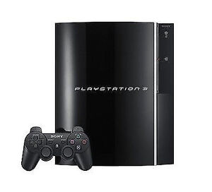 Sony PlayStation 3 Launch Edition 80 GB Piano Black Console