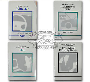 1999 ford windstar wiring diagram manual original.