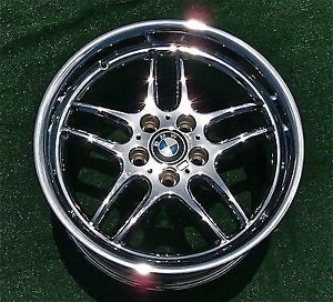 BMW Chrome parallels 18 inch
