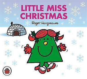 NEW sparkly LITTLE MISS CHRISTMAS ( BUY 5 GET 1 FREE book ) Mr Men