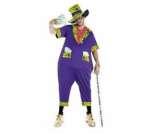 Phat Pimp Adult costume ,JUMPSUIT one size fits all! Brand new
