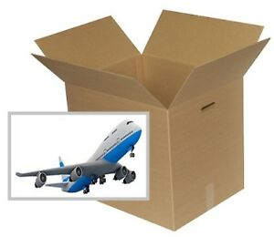 "Corrugated boxes for Air or Bus travel 62"" (158cm) maximum size"