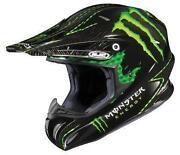 Monster Energy Motocross Helmet
