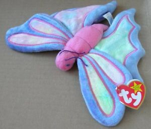 Flitter the Butterfly Ty Beanie Baby stuffed animal