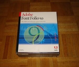 Adobe Font Folio 9 - Every Adobe Typeface & More