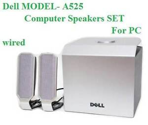 Dell MODEL- A525 - Computer Speakers SET - For PC - wired Colyton Penrith Area Preview