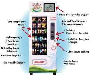 Max Healthy Vending Machine - 9 machines total