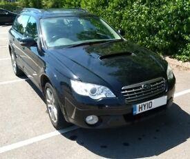 2010 Black Subaru Outback 2.0 D RE 5dr (leather)