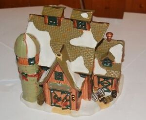 Christmas houses village ~ Maisons de Noel