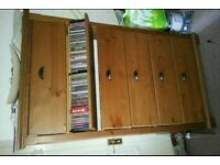 Slim cd Drawer Unit