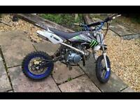 Stomp pit bike (110cc lifan engine) Fully working