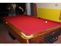 Pool Table (Balls and cues included)