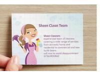 Sheen Clean Team Cleaners