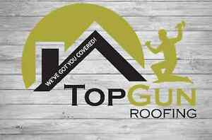Top Gun Roofing - We've got you Covered!