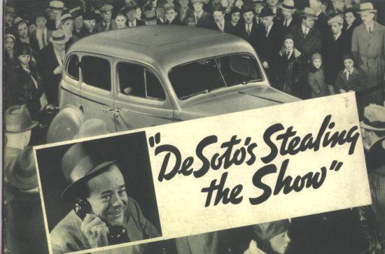1936 De Soto Sales Catalog / Nice 24-page Brochure