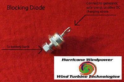 80 Amp 600 Volt Blocking Diode for Wind Generator, Wind Turbine, Solar Panel