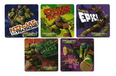 15 Teenage Mutant Ninja Turtles TMNT Stickers Kid Bday Party Goody Bag Favors (Ninja Turtle Bday Party)