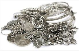 Silver WANTED . We BUY jewellery, coins, bars. The best price paid. Aberdeenshire