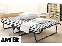 Jay-be folding small double bed. Hardly used. Ideal as spare bed for small rooms!