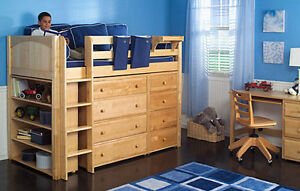 HOLIDAY EXTENDED SALE 15% OFF + FREE MATTRESS_ BUNK & LOFT BEDS Kitchener / Waterloo Kitchener Area image 8