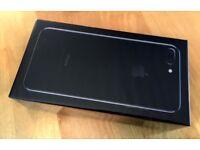 Brand new Iphone 7 Plus 128 GB JET BLACK