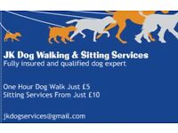 JK Dog Walking & Sitting Service. Cardiff, Pontypridd, RCT and surrounding areas covered