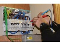 Electrician domestic and commercial services all areas around Glasgow