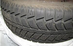 4 WINTER TIRES ON RIMS SIZE 175/70R13