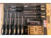 Stanley 20 piece screwdriver set