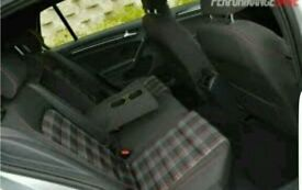 Vw golf mk7 gti interior front and rear seats 13-17