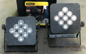 20-piece LED Flat PAR DMX Controllable Stage Lighting Set