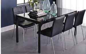Stylish glass dining room suite Bedford Bayswater Area Preview