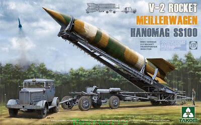 Takom 1/35 2030 German V-2 Rocket Meiller Wagen Hanomag SS100 for sale  Shipping to Canada