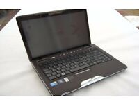 Toshiba Satellite U500 Touchscreen laptop 750gb hard drive