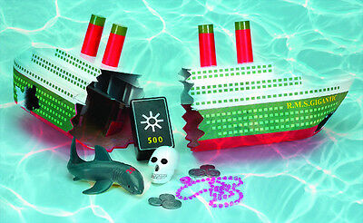 Diving Game (18 inch Ship Wreck Toy Dive Game Swimming  Pool Kids LEARN TO SWIM Swimline)
