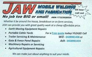JAW Mobile Welding And Fabrication! Toowoomba Toowoomba City Preview
