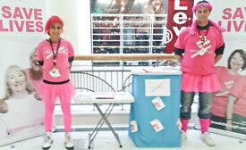 London Charity Street Fundraiser Earn £9.20 P/H Basic + BONUS! Change the world! Immediate starts!